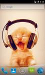 Kitty Music LWP screenshot 1/3