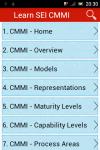 Learn SEI CMMI screenshot 1/6