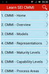 Learn SEI CMMI screenshot 5/6