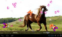 3D Horse Live Wallpaper screenshot 3/5