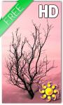 Pink Winter Live Wallpaper screenshot 1/2