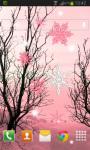 Pink Winter Live Wallpaper screenshot 2/2