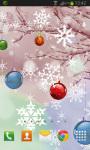 Christmas Balls Live Wallpaper screenshot 2/2