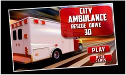 City Ambulance Rescue Drive 3d screenshot 1/5
