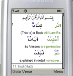 Quran Word for Word in Arabic and English screenshot 1/1