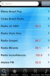 Rdios do Brasil - Alarme + Registo / Radio Brazil - Alarm Clock + Recording screenshot 1/1