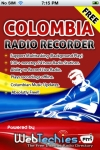 Radio Colombia with Recorder screenshot 1/1