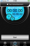 AnyCourse Stopwatch Lite screenshot 1/1