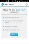 Mind Reader Math Magic Trick screenshot 2/4
