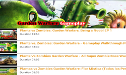 Garden Warfare Gameplay Videos screenshot 1/3
