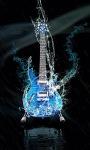Blue Guitar Live Wallpaper screenshot 1/3