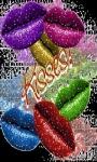 Colorful Lips Live Wallpaper screenshot 1/3