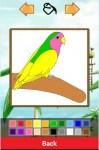 Birds Coloring App screenshot 2/6