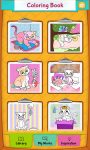 Cat Coloring Pages App screenshot 1/5