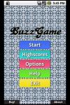 Buzzgame screenshot 1/2