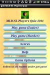 go6 MLB NL Players Quiz screenshot 1/3
