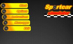 Sport Cars Simulator screenshot 1/4