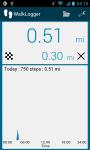 WalkLogger pedometer screenshot 2/4