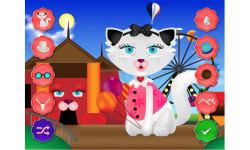 Kitty Cat Dress up - Pet Salon Games screenshot 1/5