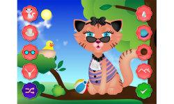Kitty Cat Dress up - Pet Salon Games screenshot 2/5