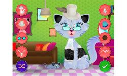 Kitty Cat Dress up - Pet Salon Games screenshot 4/5