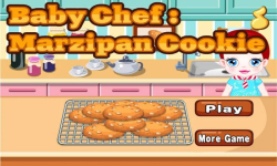 Baby Chef-Marzipan Cookie screenshot 1/4