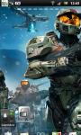 Halo Live Wallpaper 3 screenshot 2/3