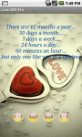 SMS For Lovers Free screenshot 2/6