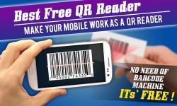 Free QR and Bar code scanner reader screenshot 1/3