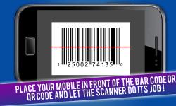 Free QR and Bar code scanner reader screenshot 2/3