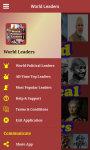 World Political Leaders screenshot 2/4