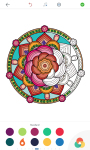 Mandala Coloring Pages for Adults screenshot 2/6