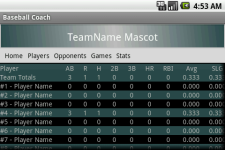 Baseball Coach screenshot 1/4