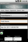 Baseball Coach screenshot 2/4