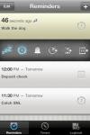 Due  super fast reminders, reusable egg timers screenshot 1/1