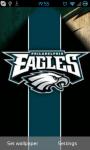Philadelphia Eagles NFL Live Wallpaper screenshot 1/3