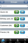 Smart Group: Email, SMS/Text & Contacts screenshot 1/1
