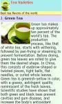 Tea Varieties of the World screenshot 2/2