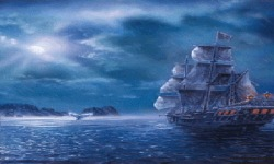 Boat In Rain Live Wallpaper screenshot 2/3