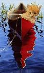 Cat In Boat Live Wallpaper screenshot 3/3