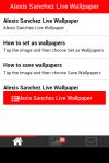 Alexis Sanchez Live Wallpaper screenshot 2/5