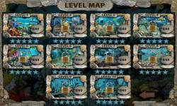 Free Hidden Objects Games - Deep Blue Sea screenshot 2/4