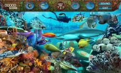 Free Hidden Objects Games - Deep Blue Sea screenshot 3/4