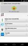 Battery Saver Uninstaller Killer screenshot 3/4