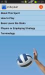 Volleyball Playing Tips screenshot 1/3