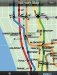 CrossWalk 2009: NYC cross-street finder, subway map & guide screenshot 1/1