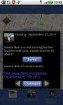 Locations for Android screenshot 2/2