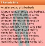 7 Rahasia Pria screenshot 3/6