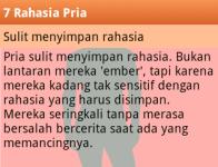 7 Rahasia Pria screenshot 6/6