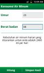 Kalkulator Sehat screenshot 2/6